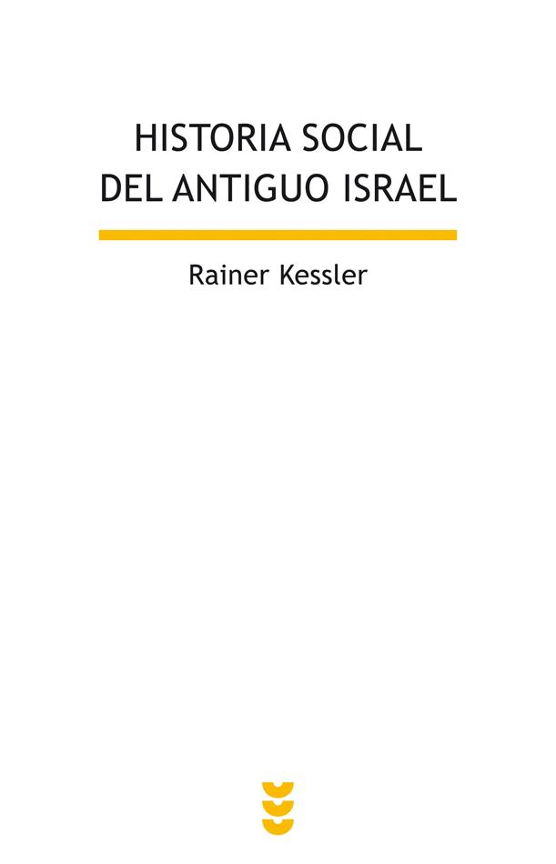 Historia social del antiguo Israel