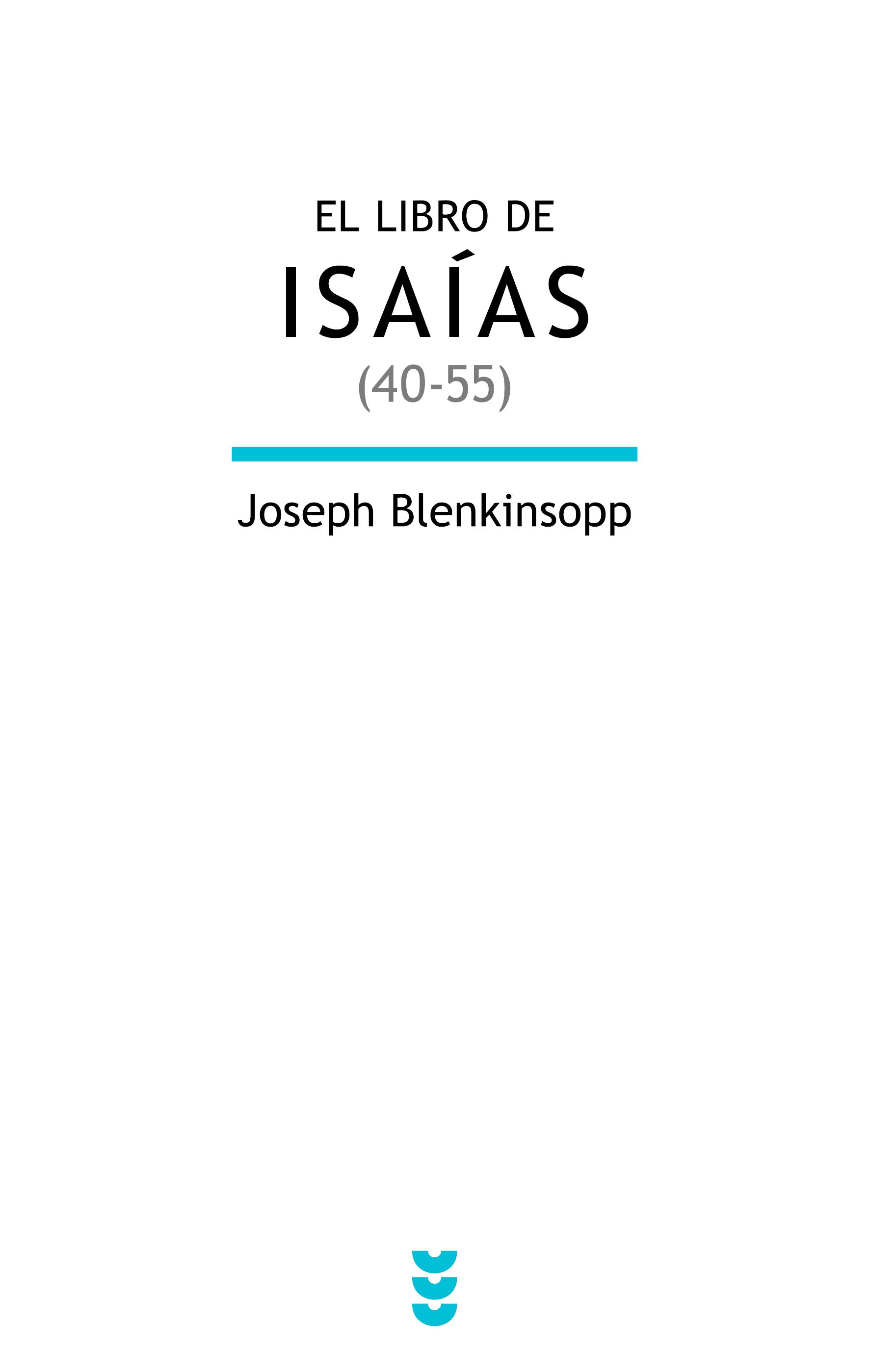 El libro de Isaías (40-55)