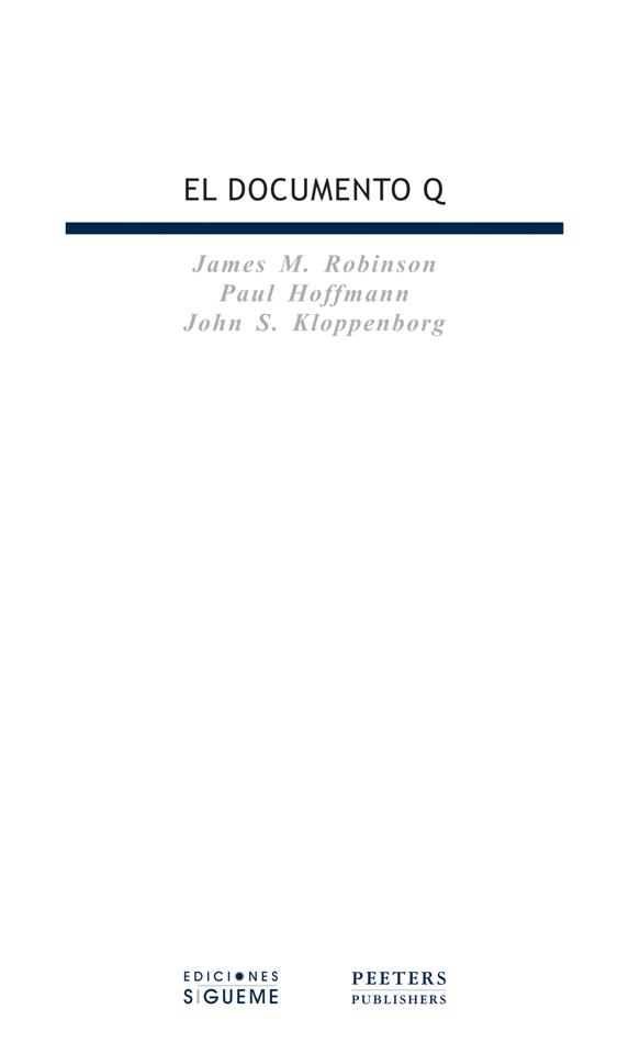El Documento Q. Edición bilingüe