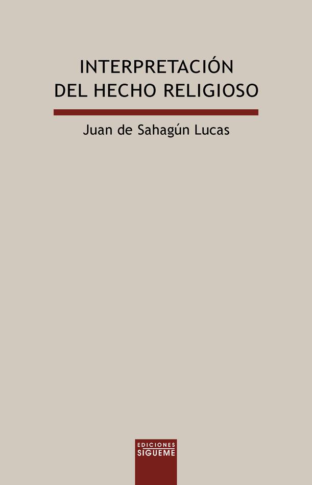 Interpretación del hecho religioso